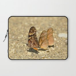 butterfly (Dione juno and Dryas julia) Laptop Sleeve