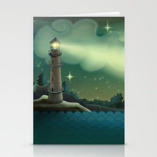 Sea landscape Stationery Cards