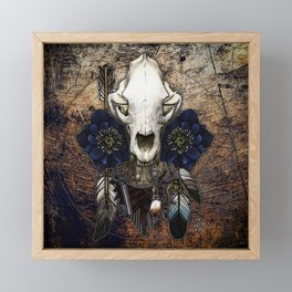 Let Us Prey: The Bear Framed Mini Art Print