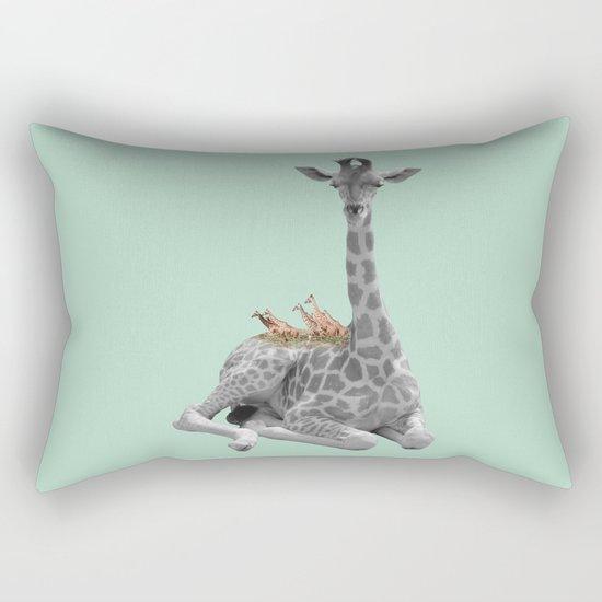 GIRAFFE (animals collection) Rectangular Pillow