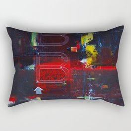 At The Bar And Bistro 3 by Kathy Morton Stanion Rectangular Pillow