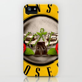 guns n roses album 2020 ansel10 iPhone Case