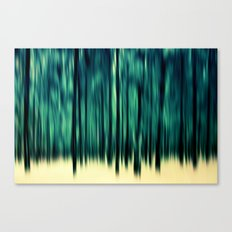 Pineline Canvas Print
