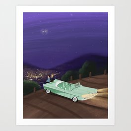 A Star for You and Me Art Print