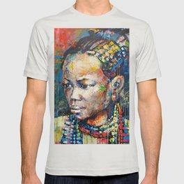 She - portrait of a beautiful woman T-shirt
