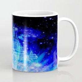 Celestial Palace Enchanted Castle Blue pink Coffee Mug