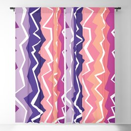 80s Zigzag 2 Blackout Curtain