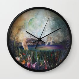 Astral Sphere Wall Clock