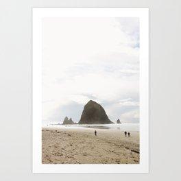 Haystack Rock, Oregon Coast, PNW Art Print