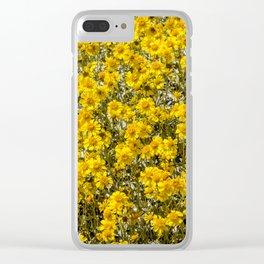 Super Bloom 7295 Paradise Joshua Tree Clear iPhone Case