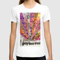 paris T-shirts featuring Vintage Paris by Bianca Green