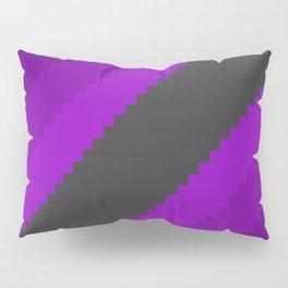 Pixel Grape Juice Dreams - Purple Pillow Sham