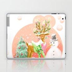 Reindeer Before Christmas Laptop & iPad Skin
