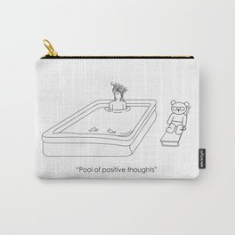 Pool of positive thoughts Carry-All Pouch