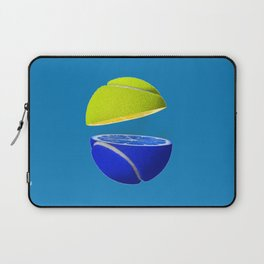 Tennis ball lemon Laptop Sleeve