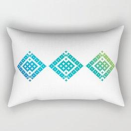 Geometric Baltic 2 Rectangular Pillow