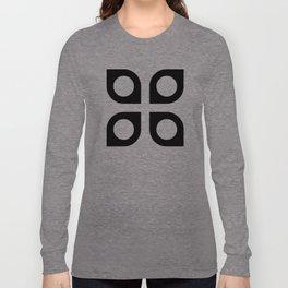 Geometric Pattern #37 (curves circles) Long Sleeve T-shirt