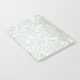 Powder Blue Mandala Notebook