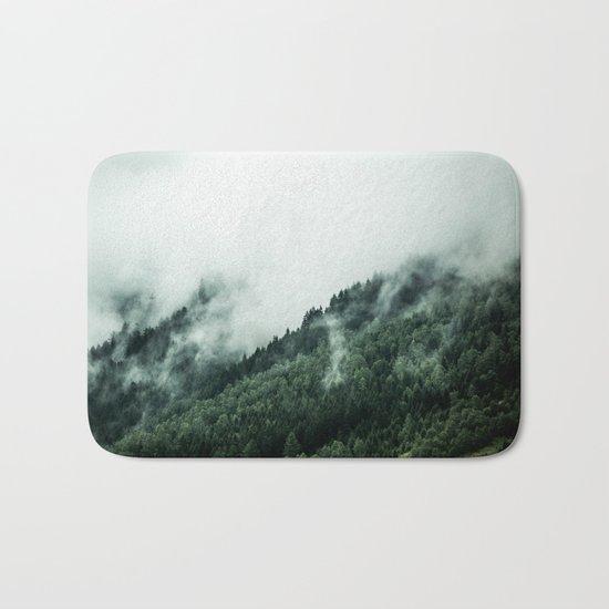 Foggy Woods 1 Bath Mat