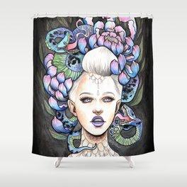 Snake Head Shower Curtain