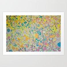 Marble Print #15 Art Print