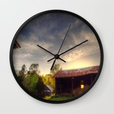 Tennessee Sunset Wall Clock