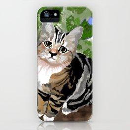Stewie - The First Kitten iPhone Case