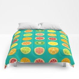 SLICE - grid Comforters