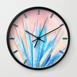 Agave Azul Wall Clock