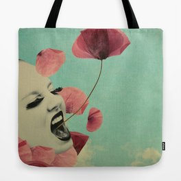 The Silent Storm Tote Bag