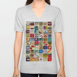 Antique Condoms Unisex V-Neck