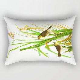 MacGillivray's Finch Rectangular Pillow