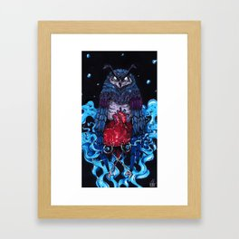 Nameless Promise Framed Art Print
