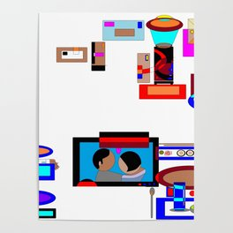A Dinner and a Movie with Technology Poster