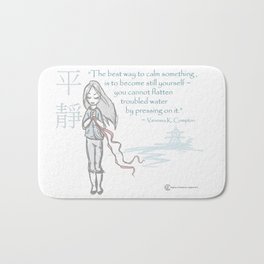 Be Calm Bath Mat