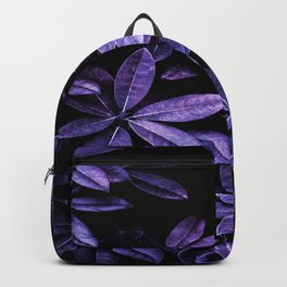 Stillness, Botanical Plants Leaves Backpack
