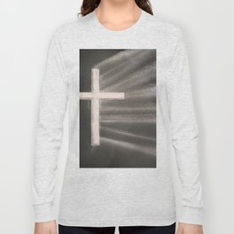 Light Shines Through Darkness Long Sleeve T-shirt