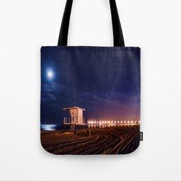 Surf City Peace Tote Bag