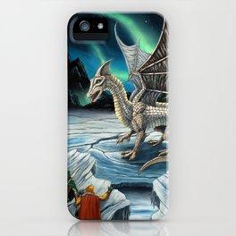 Haunt of the White Dragon iPhone Case
