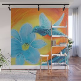 Joy hummingbirds | Joie Wall Mural