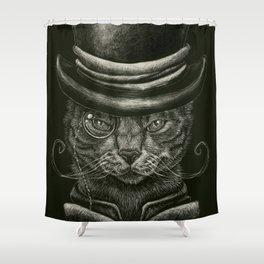 Classy Cat Shower Curtain