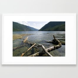 Late Afternoon on the Lake Framed Art Print
