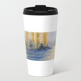 Les peupliers Metal Travel Mug