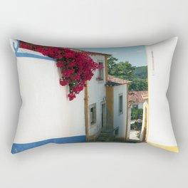 Portugal, Obidos (RR 180) Analog 6x6 odak Ektar 100 Rectangular Pillow