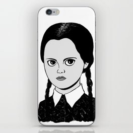 WEDNESDAY ADDAMS - THE ADDAMS FAMILY iPhone Skin