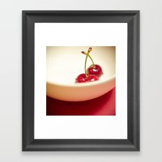 Cherry Heaven Framed Art Print