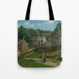 "Camille Pissarro ""The Hermitage at Pontoise"" Tote Bag"