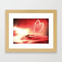 Demonstration of Love Framed Art Print