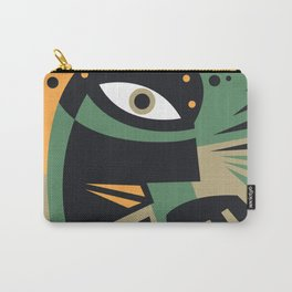 Abstract Jazz Concept, Piano Player, Music pop art Carry-All Pouch