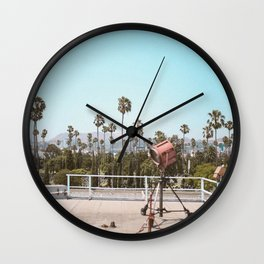 Hollywood Rooftop Wall Clock